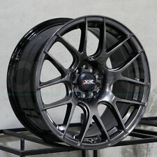 17x8.25 XXR 530 5x100/5x114.3 35 Chromium Black Wheel Rim set(4)