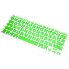 Ultra Thin GREEN Soft TPU Keyboard Cover Skin for Macbook  Pro Air 13 15 17 Inch
