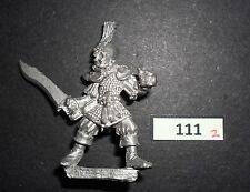 WARHAMMER Fantasy CITTADELLA Marauder MB3 DARK ELF REGGIMENTO MASCHIO Trooper 1 G111