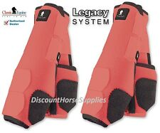 Classic Equine CORAL LEGACY SYSTEM Front Hind Rear Value Pack Medium M Boots