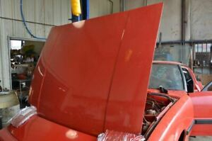1979-1985 MAZDA RX7 FB RED HOOD ASSEMBLY