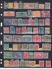 LOT OF 19TH & 20TH CENTURY CANADIAN STAMPS, INCLUDING SOME PROVINCIAL STAMPS