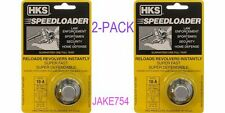 HKS Speedloader 38/357 Smith&Wesson,Dan Wesson,Taurus 6 Shot # 10-A-2  2-PACK