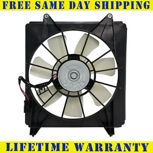 Engine Cooling Fan Assembly Left Spectra CF18033 fits 04-08 Acura TSX 2.4L-L4