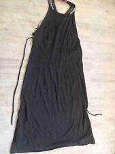 FORNARINA tolles Jerseykleid mit Perlen schwarz Gr. L NEUw.  ZC217