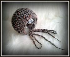 Crochet Sombrero Estilo Vintage Foto Accesorios de bebé, recién nacido