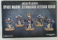 Games Workshop Warhammer 40K Space Marine Sternguard Veteran Squad Boxed Set