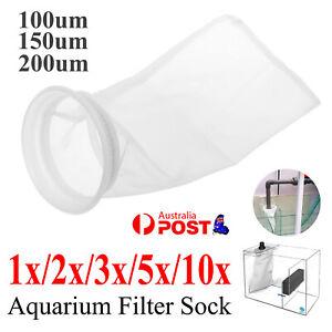 100/150/200 Micron Fish Tank Filter Bag Wet/Dry Filter Socks For Marine Aquarium