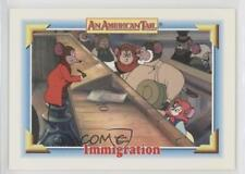 1991 Impel An American Tail: Fievel Goes West #112 Immigration Card 0c4