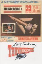 GERRY ANDERSON Signed 6X4 Postcard THUNDERBIRDS & STINGRAY COA