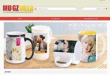 Online Design Mug printing Site Custom Built populated with mugs