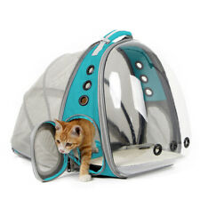 Expandable Carrier Backpack for Cats Pet Dog Space Capsule Bubble Hiking travel