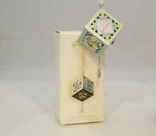 Hallmark Magic Ornament 2007 Baby's First Christmas - Musical Block - QXG6117-DB