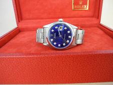 MEN'S ROLEX OysterDate PRECISION  W/ROLEX BOX BEAUTIFUL ROLEX WATCH W/DIAMONDS