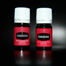 SEALED 2X Young Living FRANKINCENSE Essential Oil Meditate Ground Health Skin