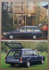 1980/1981 Holden Commodore 4-Cylinder Wagon original sales brochure