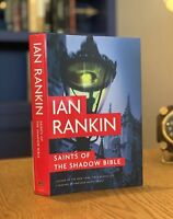 SIGNED FIRST EDITION! Saints of the Shadow Bible by Ian Rankin (2014, Hardcover)