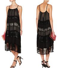 alice + olivia $495 Dejas Pleated Trapeze Dress; S