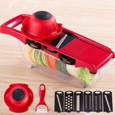 Mandoline Potato Slicer Adjustable Blade Kitchen Vegetable Food Cutter Container