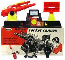 Vintage Remco Radar Cannon & Rocket Launch Aircraft Control System w/Box Works