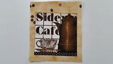 Patchworkstoff Paneele Kaffee Side Cafe