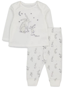 GUESS HOW MUCH I LOVE YOU  PYJAMAS 6-9MTHS - New