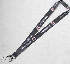 1xResident Evil Umbrella Lanyard Neck Strap Charms Cell Phone Rope KeyChain