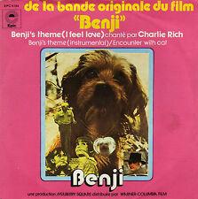 BOF BENJI CHARLIE RICH FRENCH 45 SINGLE OST