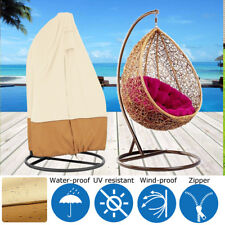 Outdoor Single Waterpoof Cover for Hanging Swing Chair and Stand Cover Protect