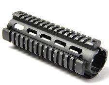 "NEW Carbine Length 6.7"" Handguard Picatinny Quad Rail Black US SELLER"