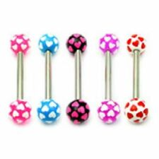 Tongue Acrylic Body Piercing Jewellery