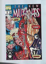 New Mutants 98 Feb 1991 NM 1st Deadpool Gideon Domino Rob Liefeld Cable