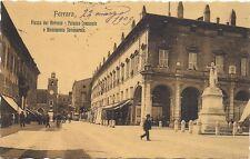 P4169    FERRARA,  Piazza del Mercato, Palazzo Comunale e Monumento Savonarola