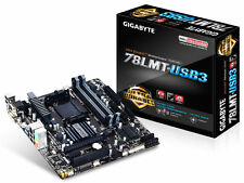 Gigabyte GA-78LMT-USB3.0 (for Socket AM3 CPUs) + AMD FX6300 6 CORE PROCESSOR+FAN