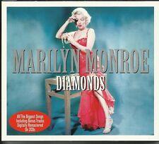 MARILYN MONROE DIAMONDS - 2 CD BOX SET - DIAMONDS ARE A GIRLS BEST FRIEND & MORE