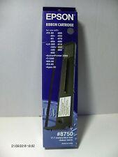 Tape Cassette Ink LX-300 FX-80 Epson Colour Black #8750 Original