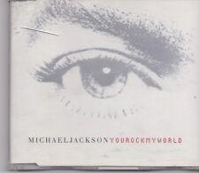Michael Jackson-You Rock My World cd maxi single