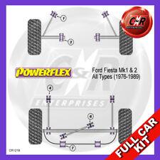 Ford Fiesta Mk1 & 2 Not XR2 (76-89) Powerflex Complete Bush Kit