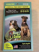 obug! Zone Flea & Tick Dog Double Pack