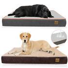 L-XXXL Extra Large Pet Bed Plush Mattress Heavy Duty Orthopedic Dog Bed Washable