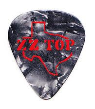 Zz Top Texas Logo Gray Pearl Vip Guitar Pick - 2017 Tour