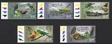 "NEW ZEALAND 2018 BIRDS ""IMAGINE PREDATOR FREE"" SET OF 5 FINE USED"