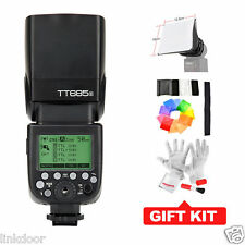 US STOCK Godox TT685S GN60 HSS 1/8000s TTL Speedlite Camera Flash Light for Sony