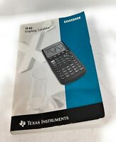 1996 TI-83 Texas Instruments Graphing Calculator Guidebook