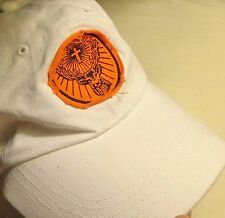 Jagermeister - Baseball Style Golf Hat - White...Deer Head Patch on Front...NEW