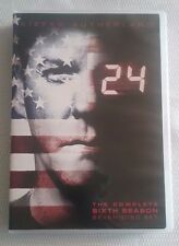 24 - complete sixth season DVD, Seven-disc set, Kiefer Sutherland, 2009