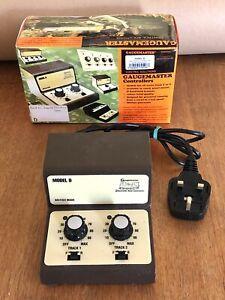 Gaugemaster Controller Model D - Twin Track - OO / HO & N Gauge Boxed VGC
