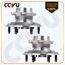 Pair Of 2 Front Complete Wheel Hub & Bearing Assembly 4WD Fits GMC Chevy Trucks
