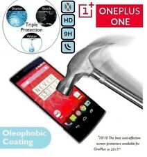 100% Genuine Premium Tempered Glass LCD Screen Protector Plus for OnePlus One 1