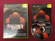 Second Sight (Microsoft Xbox, 2004) COMPLET PAL UK Gratuit p&p